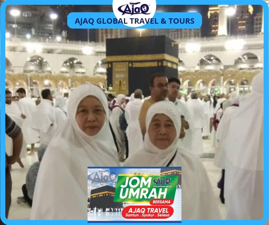 Trip Umrah 14 – 24 Disember 2018